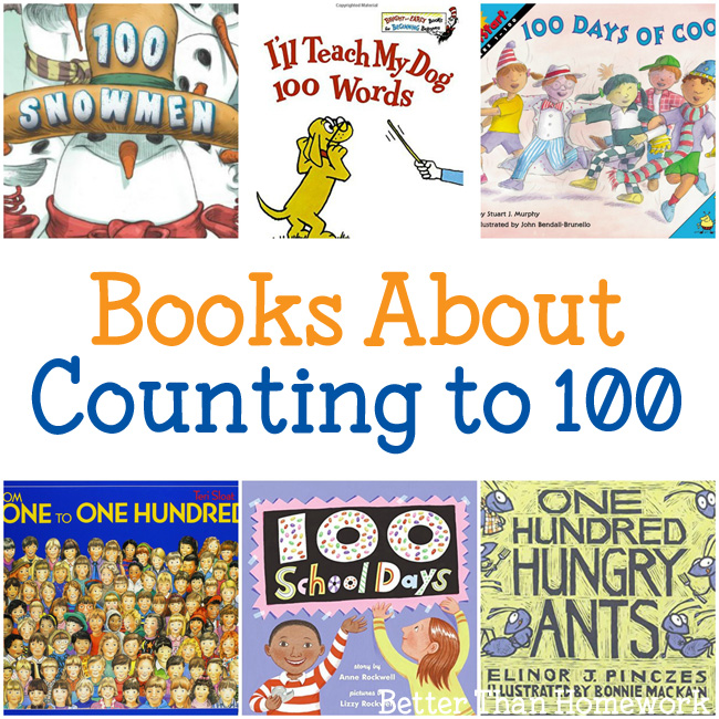 Fun Books About Counting to 100
