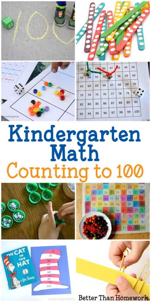 Have Fun With These Hands On Counting To 100 Activities For Kindergarten You