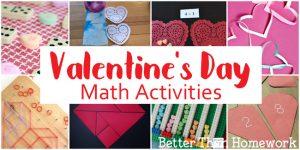 Fun Valentine's Day Math Activities