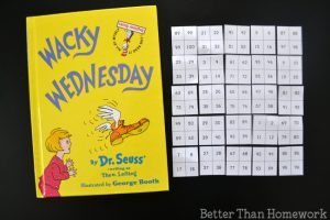 Wacky Mixed-Up Hundred Chart Game