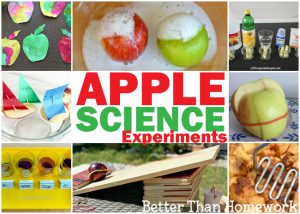 Awesome Apple Science Experiments