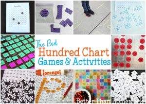 Fun Hundred Chart Games and Activities