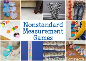 Fun Nonstandard Measurement Games